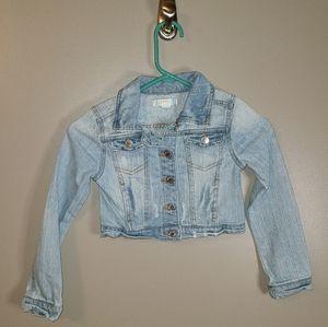 🐠3/$25 Piper Crop Top Jean Jacket